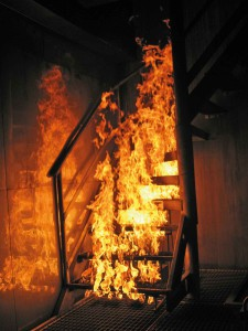 Staircase-Fire---Treppenbrand-Ungarn